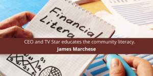 James Marchese of all Trades: CEO and TV Star ed community literacy.